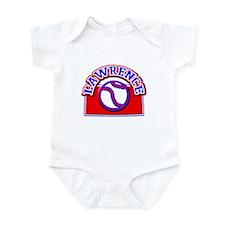 Lawrence Baseball Infant Bodysuit