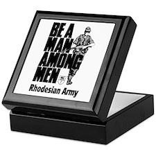 Rhodesian Army Keepsake Box