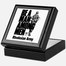 Rhodesian Army Keepsake Box