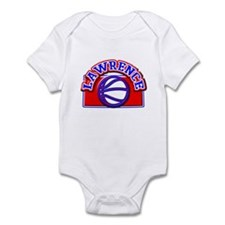 Lawrence Basketball Infant Bodysuit