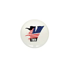 American V-Twin MOTORCYCLES Mini Button (10 pack)