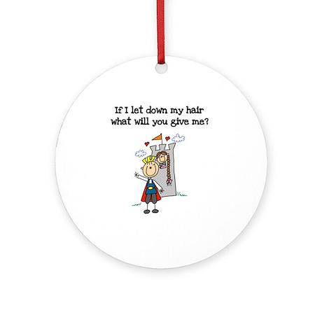 Princess Humor Ornament (Round)