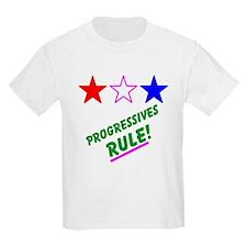 Progressives Rule! Kids T-Shirt