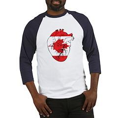 Heart Canada Baseball Jersey