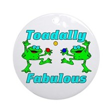 Toadally Fabulous Ornament (Round)