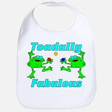 Toadally Fabulous Bib