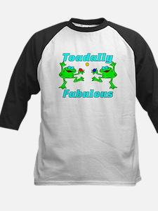 Toadally Fabulous Kids Baseball Jersey