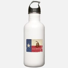 Texas and Gadsden Flag Water Bottle