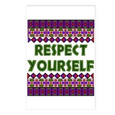 Respect Yourself Postcards (Package of 8)