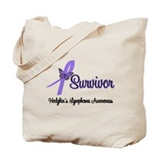Hodgkin's Disease Survivor Tote Bag