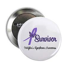 """Hodgkin's Disease Survivor 2.25"""" Button"""