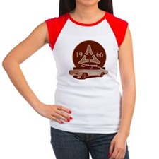 66 Charger Women's Cap Sleeve T-Shirt