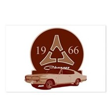 66 Charger Postcards (Package of 8)