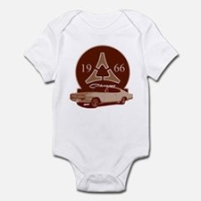 66 Charger Infant Bodysuit