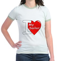 I Love My Sailor (Front) T