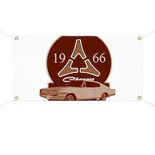 66 Charger Garage Banner