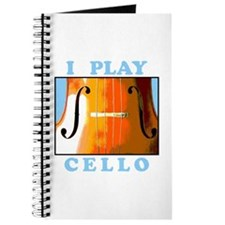 I Play Cello Journal