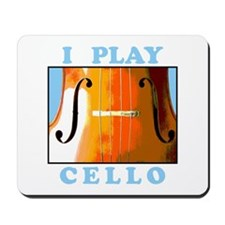 I Play Cello Mousepad