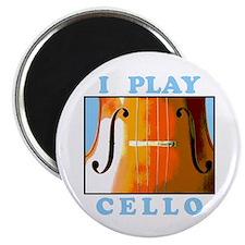 I Play Cello Magnet