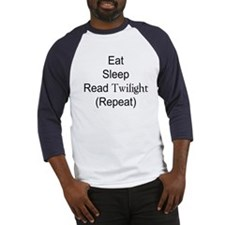 Eat, Sleep, Read Twilght Baseball Jersey