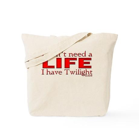 No Life Needed, Twilight Love Tote Bag