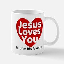 Jesus Loves You Mug