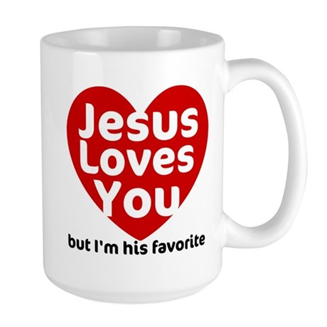 Jesus Loves You Large Mug
