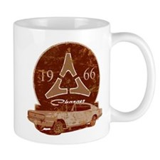 66 Charger Distressed Mug