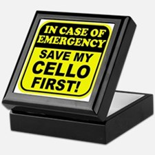 Save My Cello Keepsake Box