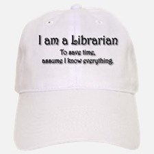 I am a Librarian Baseball Baseball Cap