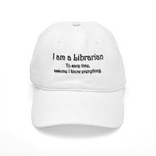 I am a Librarian Baseball Cap