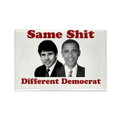 Same Shit Different Democrat Rectangle Magnet