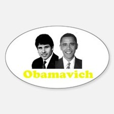 Obamavich Oval Decal