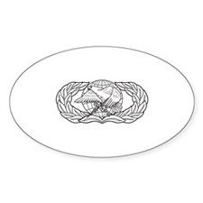 Supply and Fuels Oval Decal