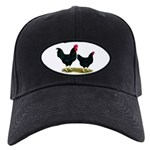 Black Broiler Chickens Black Cap