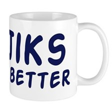 Tajiks do it better Mug