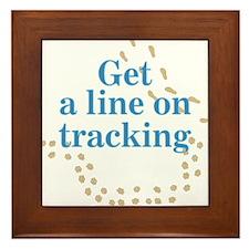 Line On Tracking Framed Tile
