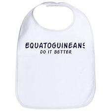 Equatoguineans do it better Bib