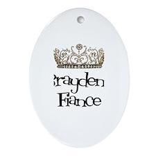 Brayden's Fiance Oval Ornament