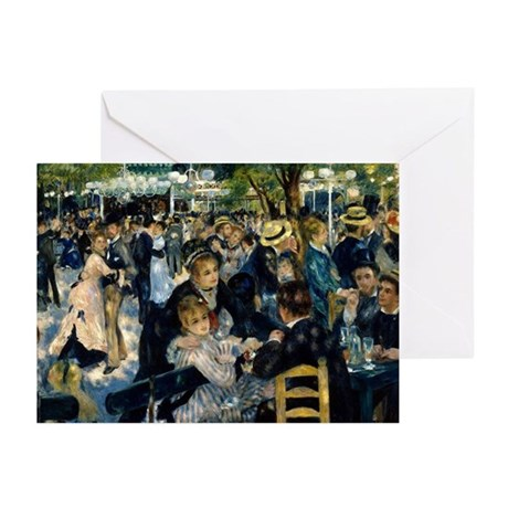 Renoir Moulin Greeting Cards (Pk of 10)