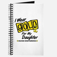 I Wear Gold For My Daughter 8 Journal