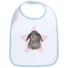 Baby bunny (pink) Bib