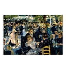 Renoir Moulin Postcards (Package of 8)