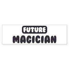 Future Magician Bumper Bumper Sticker
