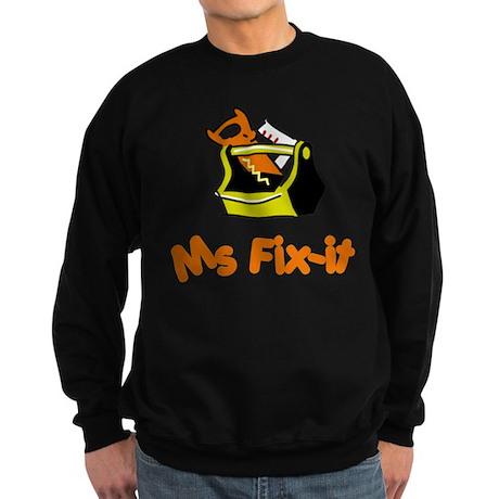 Ms Fix-it Sweatshirt (dark)