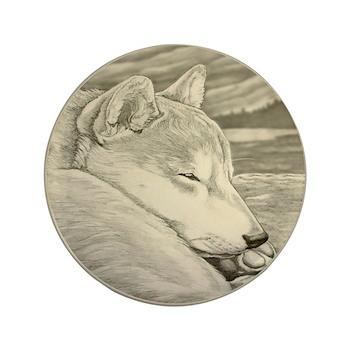Shiba Inu Dog Button