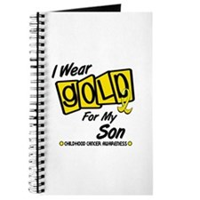 I Wear Gold For My Son 8 Journal