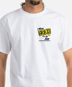 I Wear Gold For My Son 8 Shirt