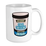 Census Cheesecake Large Mug