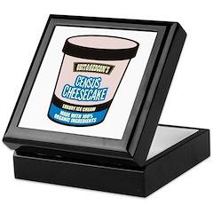 Census Cheesecake Keepsake Box